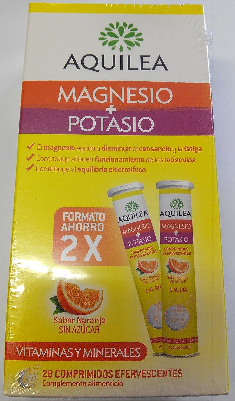 Aquilea Aquilea Magnesio + Potasio 28 Comprimidos Eferv - 1 Unidad