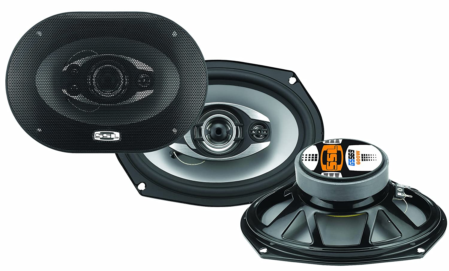 SOUND STORM GS369 GS 6 x 9 3-way 400-watt Full Range Speakers by Sound Storm Laboratories   B003L781PU