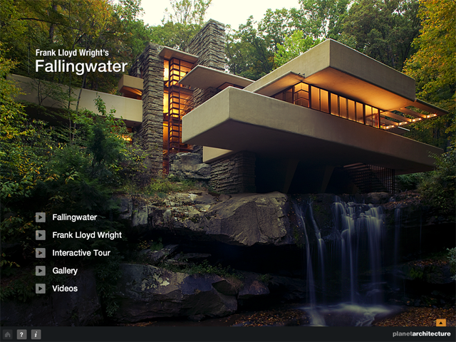 Amazoncom Frank Lloyd Wright Fallingwater Hd Appstore For Android