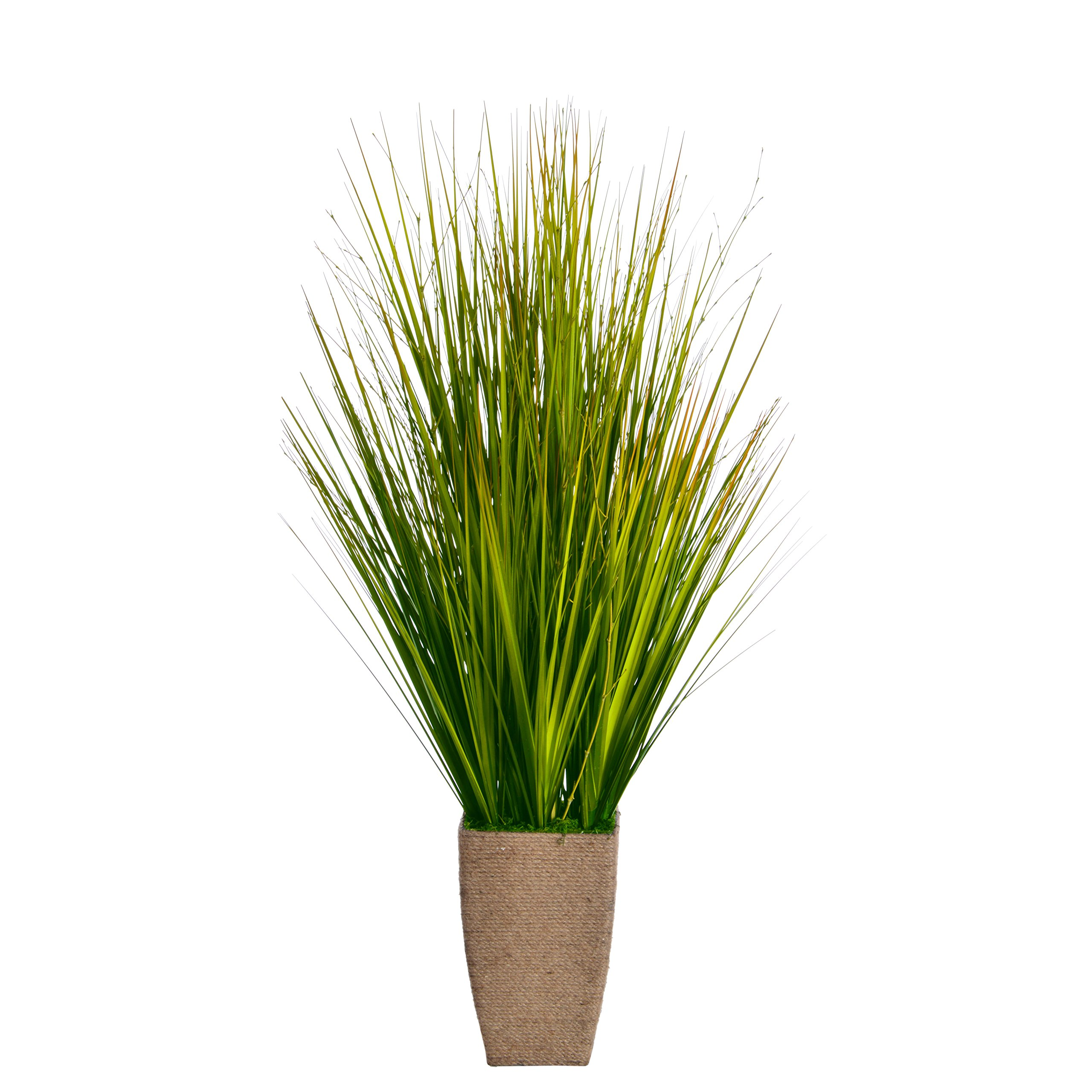 Laura Ashley VHA102436 Onion Grass Hemp Rope Container, 24 by 24 by 37''