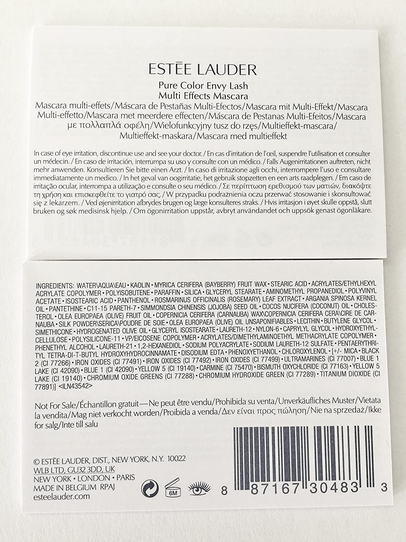 Amazon.com: Estee Lauder Pure Color Envy Lash Multi-Effects ...