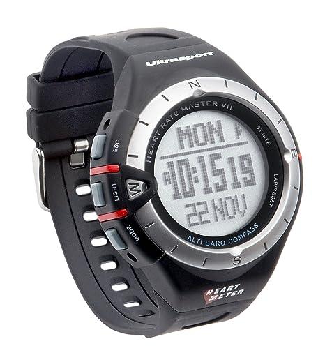 Ultrasport MultiRun 200 LOG - Reloj con pulsómetro multifunción con correa para el pecho