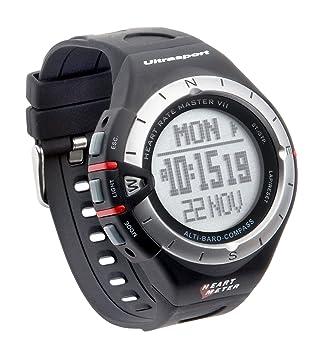 Ultrasport MultiRun 200 LOG - Reloj con pulsómetro multifunción con correa para el pecho: Amazon.es: Deportes y aire libre