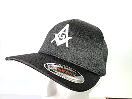 a5fb88b0ce7a2 Image Unavailable. Image not available for. Color  Masonic Hat Flexfit 3D  Embroidery ...