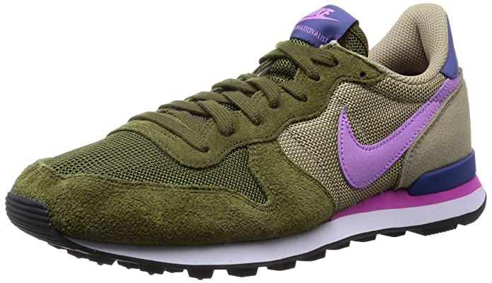 Nike Internationalist Olive Fushia Chaussures Chaussures