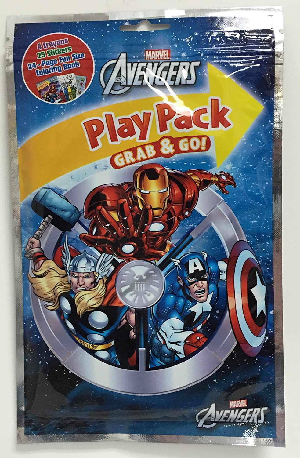 MARVEL Avengers PlayPack with Stickers Greenbrier