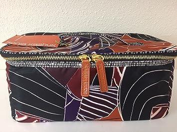 8611aa8ecd20 Amazon.com   Sonia Kashuk Large Train Case Makeup Organizer Geometric  Artwork Print   Beauty