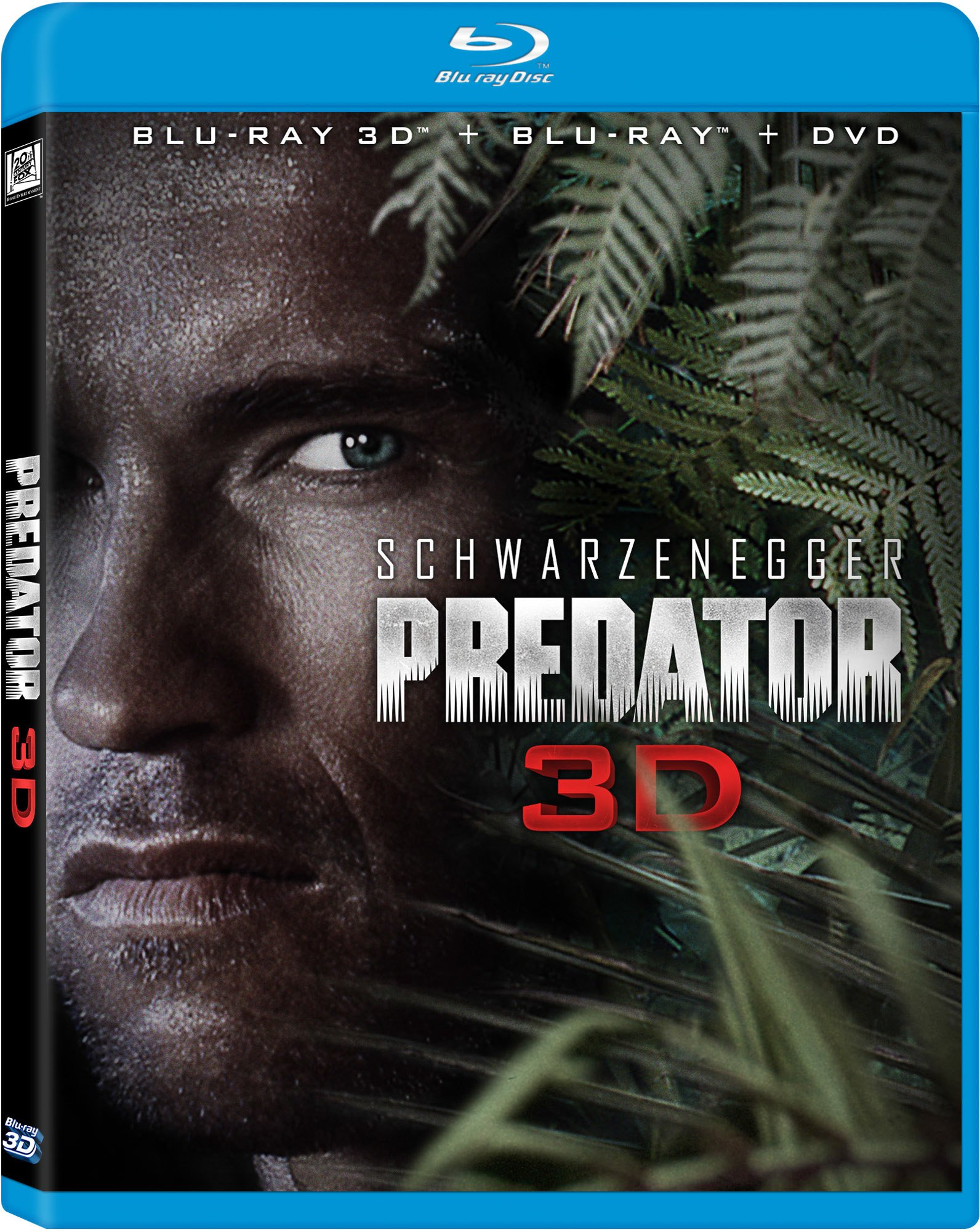 Blu-ray 3D : Predator (With DVD, Dubbed, 2 Pack, Widescreen, Digital Theater System)
