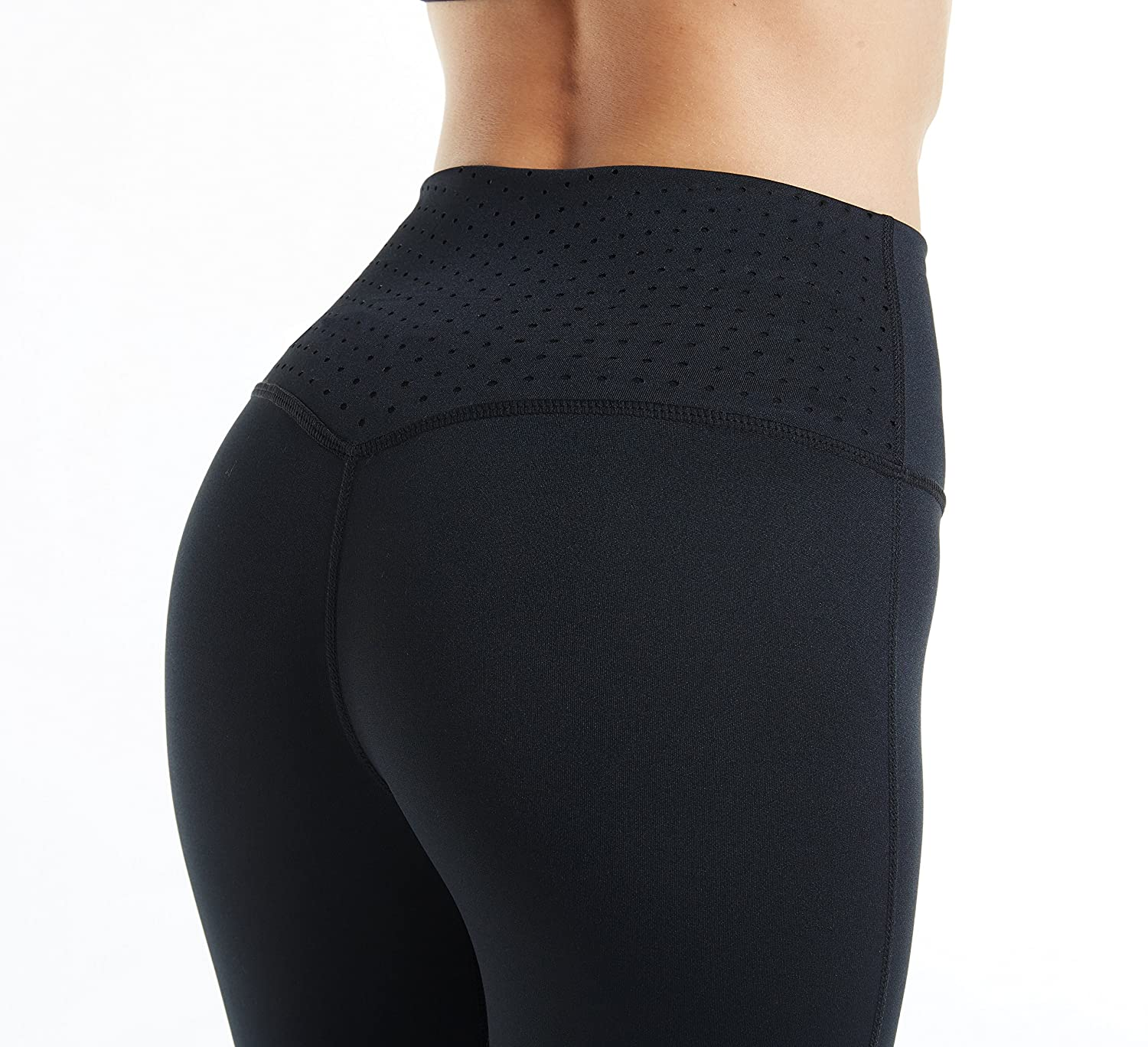 yiveko-tight-(s-xl)-mesh-panels-yoga-pants-stretchy-women-leggings-gym-fitness-workout-non-see-through by yiveko