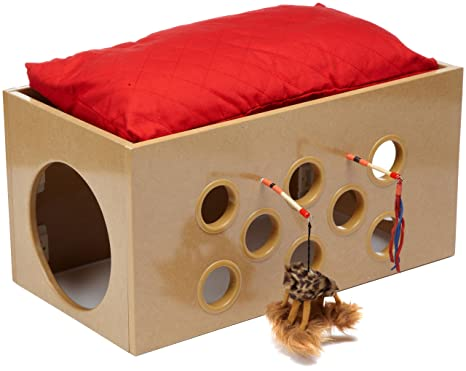 SmartCat Bootsieu0027s Bunk Bed And Playroom For Cats