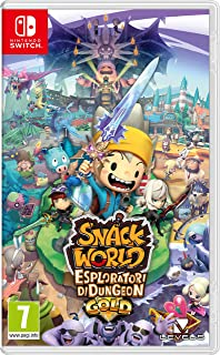 Snack World: The Dungeon Crawl - Gold - Nintendo Switch ...