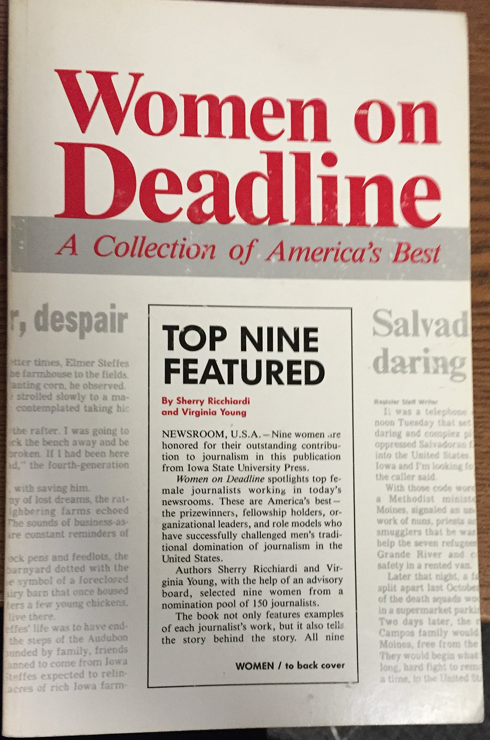 Women on Deadline: A Collection of America's Best
