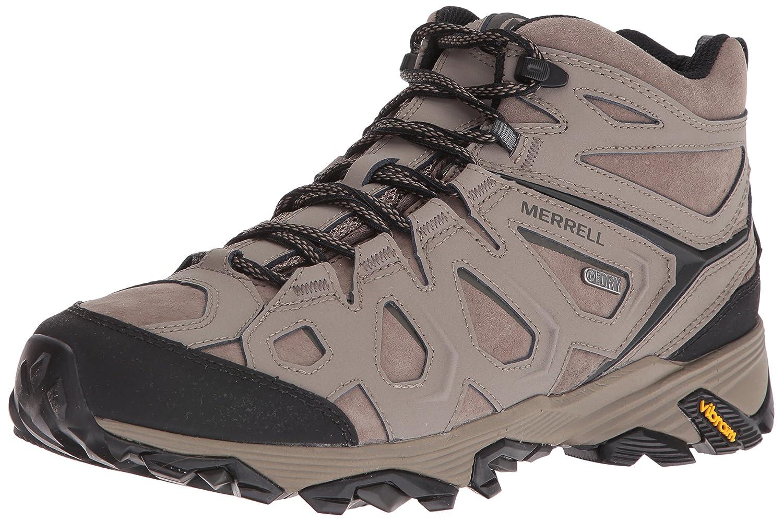 e180a39a1e3 Merrell Men's Moab FST LTR Mid Waterproof Hiking Boot, Boulder, 8 M ...