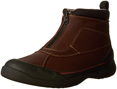 Clarks Men's Allyn Up Brown Tumbled Leather Boot 7 D ...