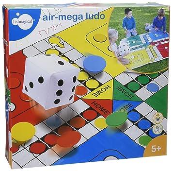 itsImagical - Air-Mega Ludo, parchís Gigante con Dado Hinchable ...