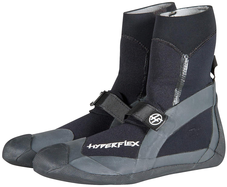 Hyperflex Proシリーズ スプリットトゥ リーフ ブーツ - サーフィン、ダイビング、シュノーケリングなどの保護に役立つ調節可能なサーフシューズ - 安全なグリップを提供 - プレミアム品質 ブラック/グリーン B07HB831TC  6 6|7mm