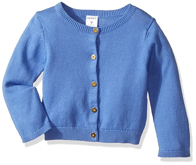 d5774681c Amazon.com  Carter s Baby Girls  Cardigan (Baby) - Blue - 9 Months ...