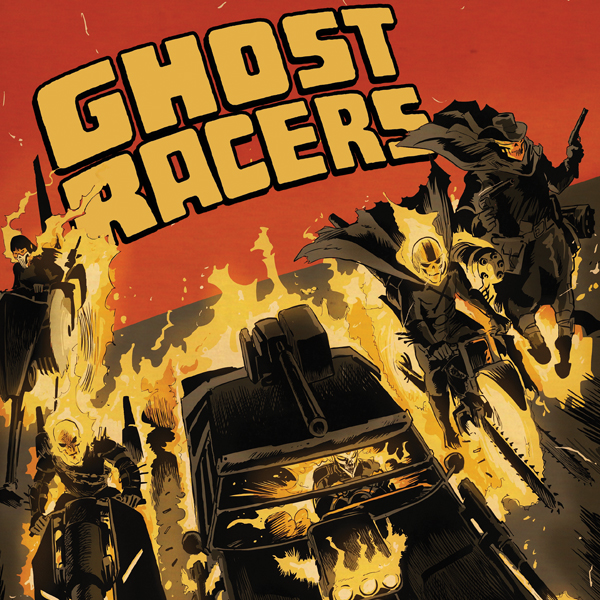 Ghost Racers (2015) (Issues) (4 Book Series)