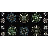 Kismet Kismet Manadals 23in Panel Blue/Multi Fabric By The Yard