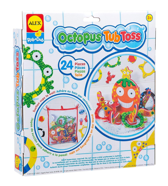 ALEX Toys Rub a Dub Octopus Tub Toss 817N