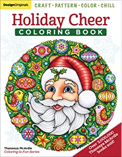 Holiday Cheer Coloring Book Craft Pattern Color Chill Design Originals