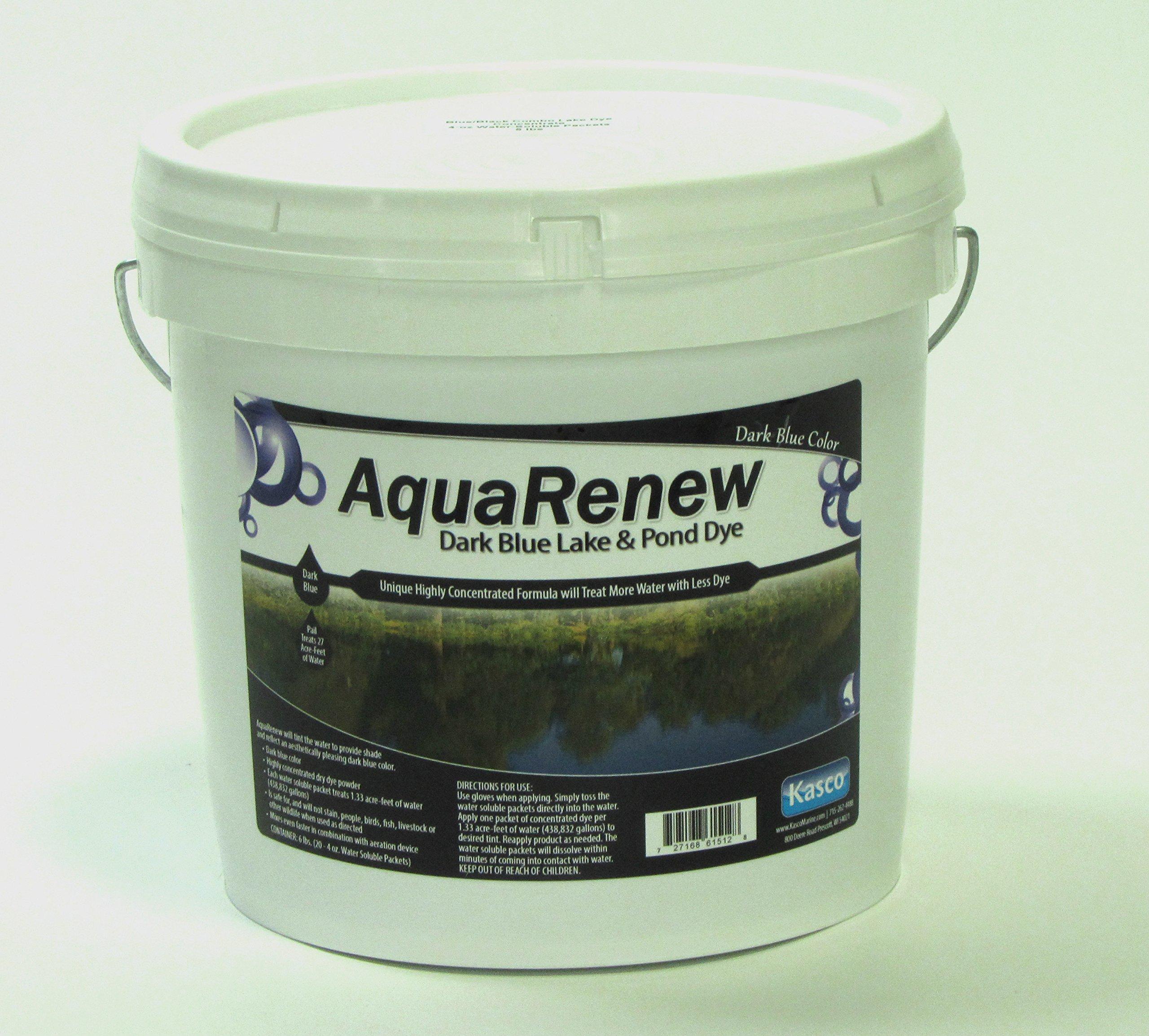 AquaRenew Eco Safe Pond & Lake Water Dye - 6 lbs DARK BLUE