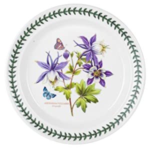 Portmeirion Exotic Botanic Garden Dinner Plate Set with 6 Assorted Motifs