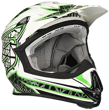 Suomy ksmj0017.6 Casco Moto, verde, XL