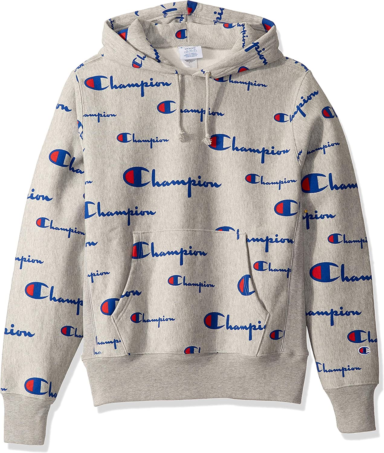 champion all over print hoodie