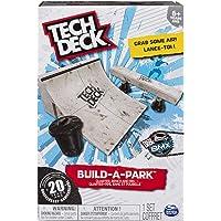Tech Deck Build-a-Park - Cuarta, Banco y cubeta Personalizable, Multi