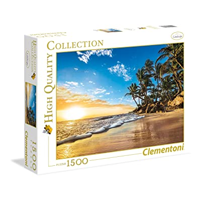 Clementoni 31681 Clementoni-31681 Collection-Tropical Sunrise-1500 Pieces, Multi-Colour, 6 (EU): Toys & Games