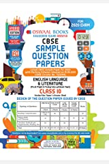 Oswaal CBSE Sample Question Paper Class 10 English Language and Literature Book (For March 2020 Exam) Paperback