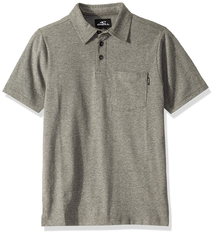 ONEILL Boys Big Button Front Collared Polo Shirt