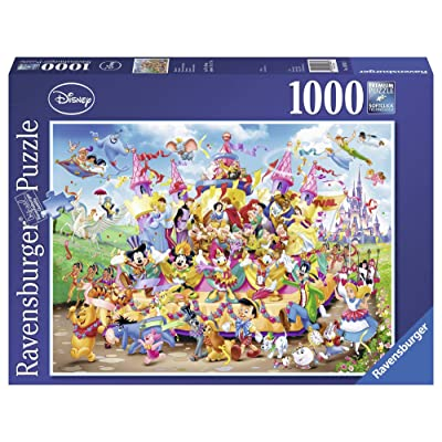 1000 Piece Disney Carnival Puzzle: Toys & Games