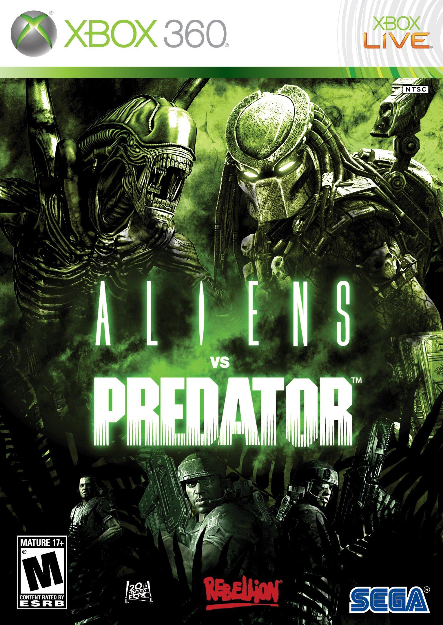 Aliens vs Predator - Xbox 360 by SEGA (Image #1)