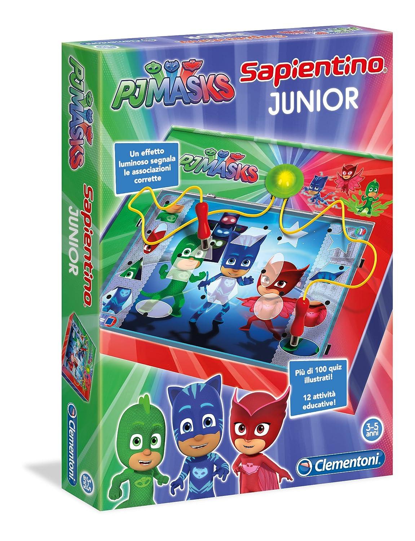 Clementoni Sapientino Junior - Juego (Versión Italiana) PJ Masks Varios Colores: Amazon.es: Juguetes y juegos