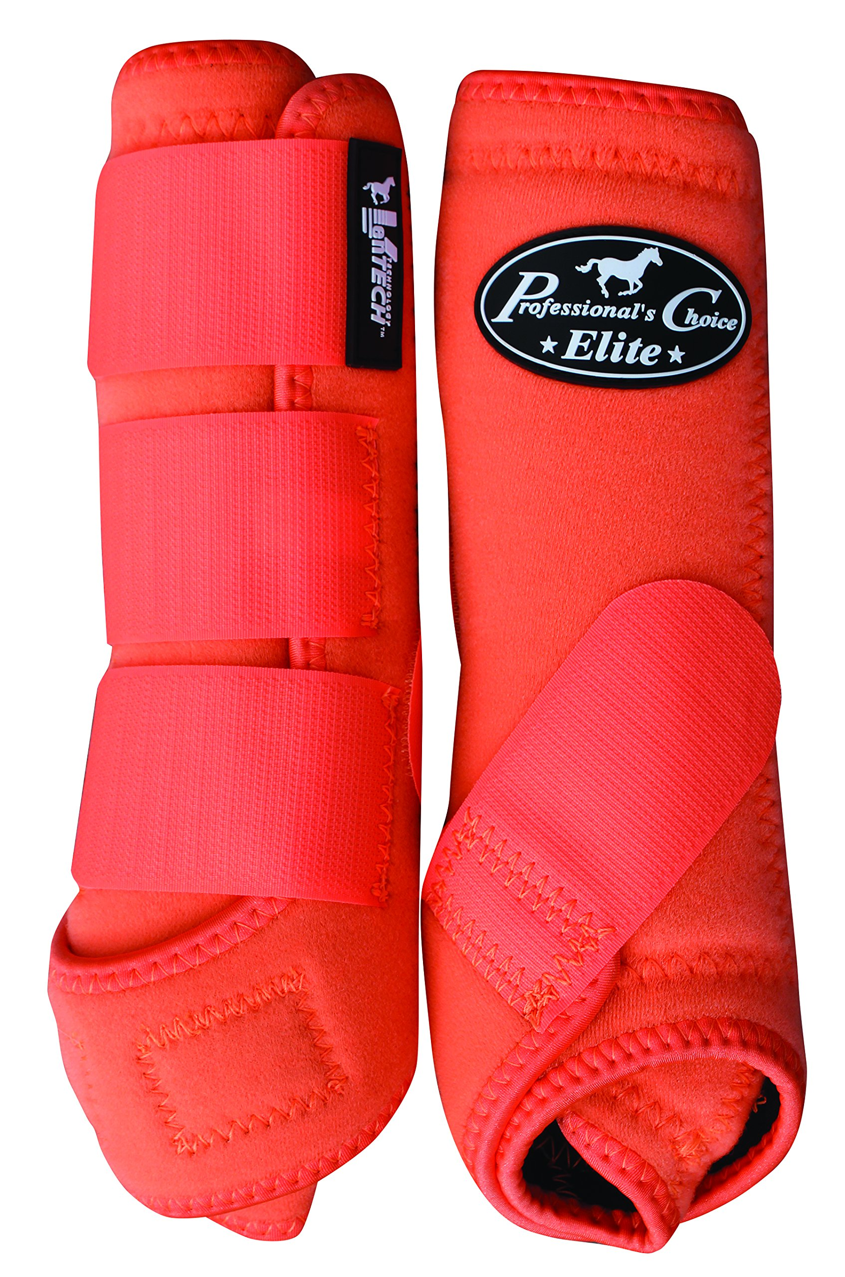 Professionals Choice VenTECH Elite Value 4-Pack Orange Medium Exclusively for OSO1O
