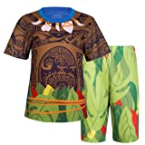 Filare Maui Moana Costume Boys Cartoon Pajamas