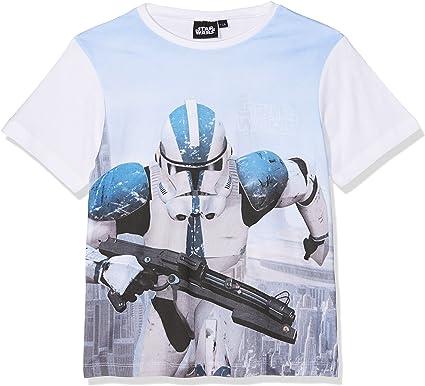 Star Wars Characters Camiseta para Niños: Amazon.es: Ropa y ...