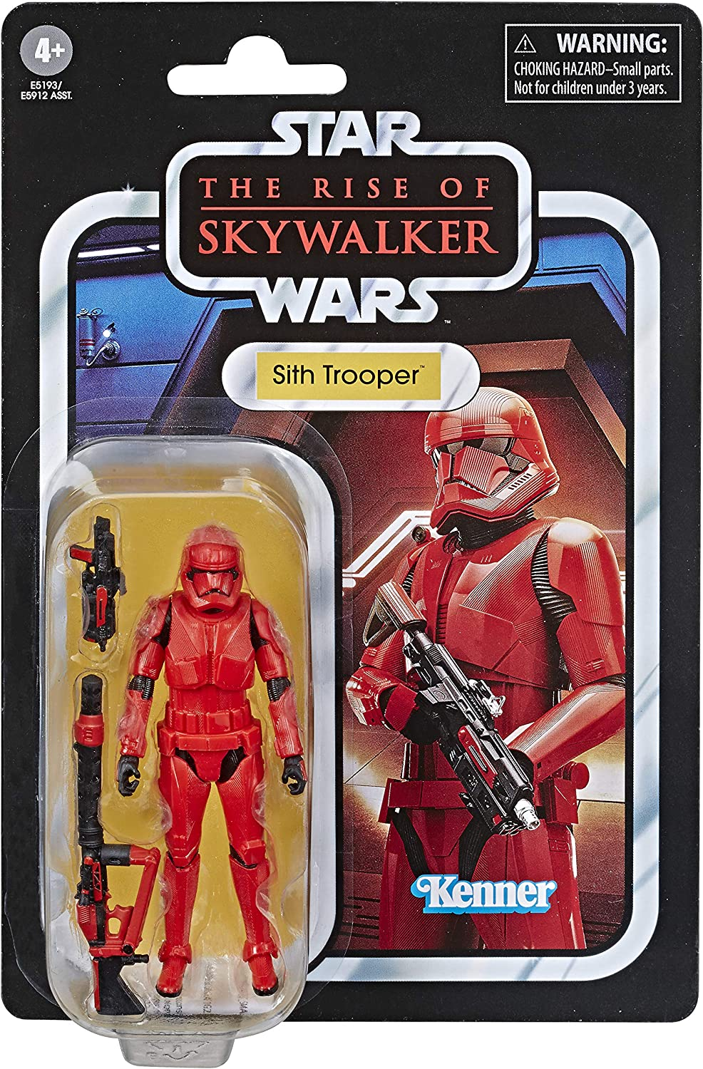 Amazon Com Star Wars The Vintage Collection The Rise Of Skywalker Sith Trooper Toy 3 75 Inch Scale Action Figure Kids Ages 4 And Up Toys Games