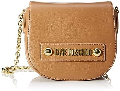 Love Moschino Borsa Small Grain Pu, Tracolla Donna, 15x20x8 cm (W x H x L)