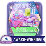 You*Niverse Chemistry Lab by Horizon Group Usa, Explore Over 20 Stem Science Experiments, Create Bathbombs, Gooey Slime, Crystal, Fizzing Explosions & More, Multicolor