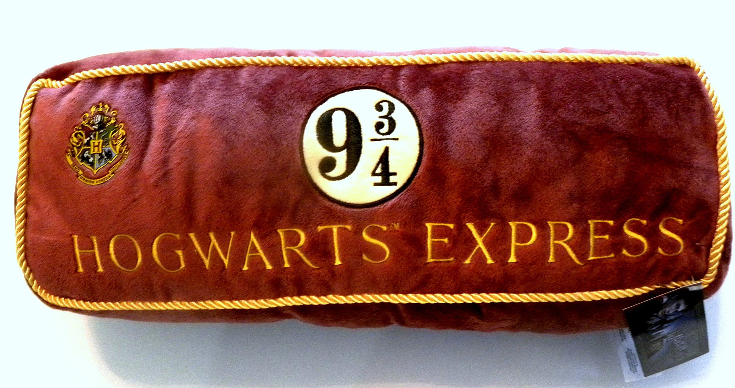 Universal Studios Wizarding World of Harry Potter Diagon Alley Luxurious Plush Pillow Hogwarts Express 9 3/4 Train