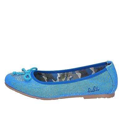 b8cbd5de276dc Lulu  Ballerines bébé Fille Toile Bleu  Amazon.fr  Chaussures et Sacs