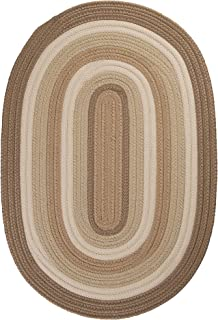 product image for Brooklyn Polypropylene Braided Rug, 10-Feet by 13-Feet, Natural
