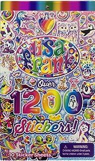 Amazon.com: Lisa Frank Adult Coloring Book Set -- 4 Premium Lisa ...