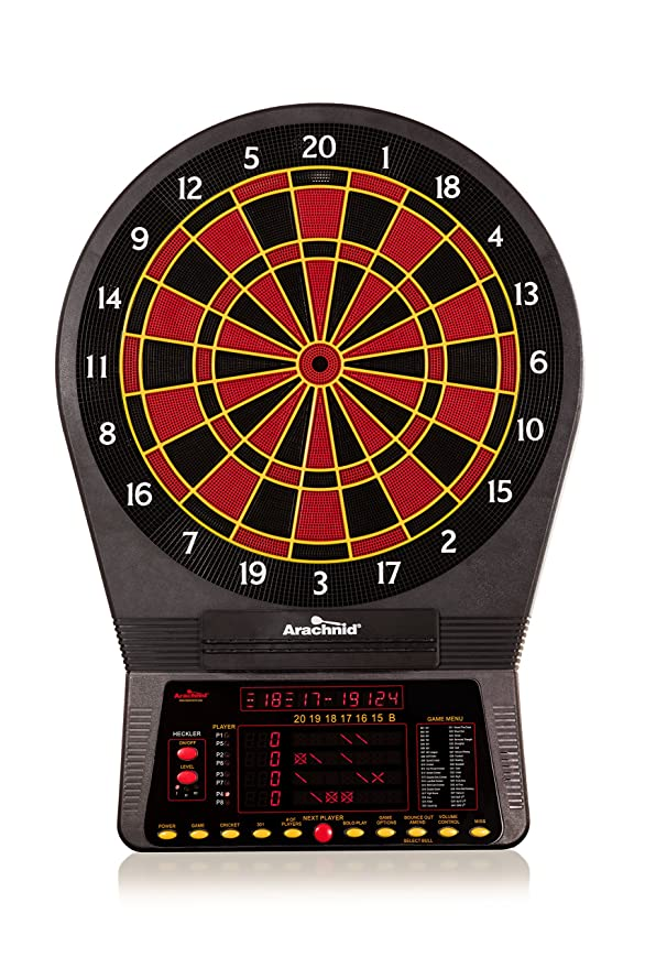 arachnid cricket pro 800 dartboard review