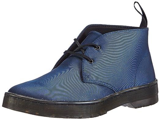 Dr. Martens DAYTONA Satin BLUE - Botas de raso para mujer, color azul, talla 43