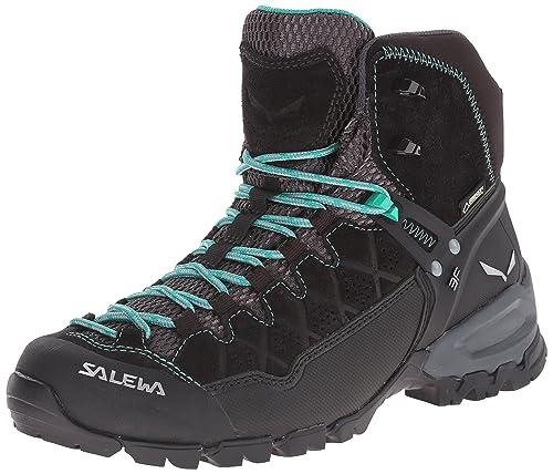 Salewa Damen Gore Wanderstiefel Bergschuh Trekkingamp; Trainer Mid Alp Tex Rj3A5L4