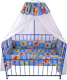 Mothertouch Baby Cot Dx (Light Blue)